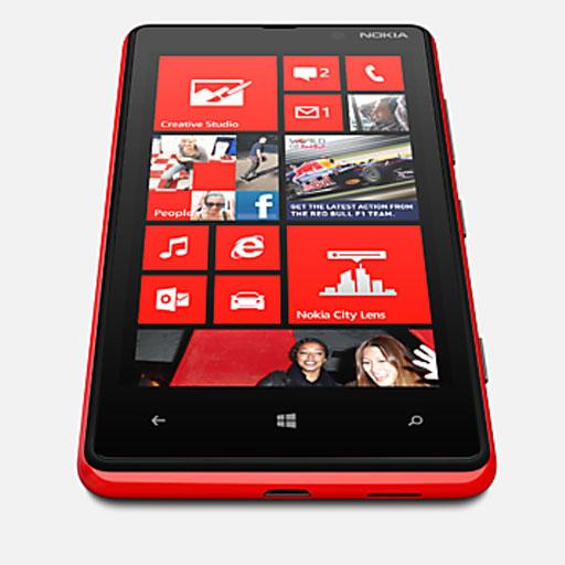 Nokia Lumia 820 Rot