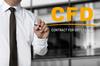 berühren business copy space cyberspace dienstleistungen hand hemd kaufmann konzept krawatte makler online pen schreiben show tauschen touch screen trading währung